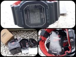 G Shock GD5600BB pulseira Bicolor