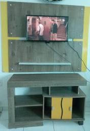 Rack e painel para tv.