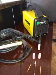 Inversora MIG eletrodo com tocha  e acessórios