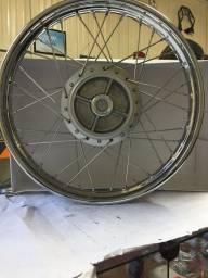 Roda traseira completa CG150 04 Em Diante Honda