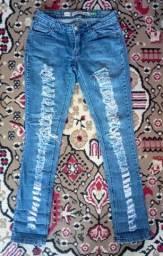 Calça jeans feminina tamanho 38/40