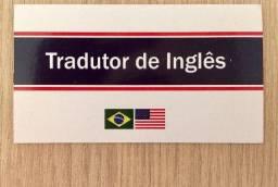 Tradutor de Inglês (artigos, livros, sites etc
