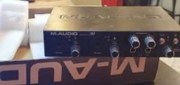 M audio pro fire 610 10 canais