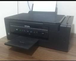 Impressora e frigobar
