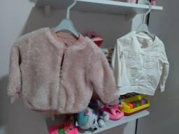 Combo infantil ( jaqueta e capote)