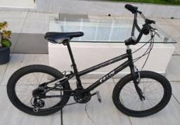 Caloi Expert aro 20 bike tunada Câmbio Shimano pneu balão Atacama bicicleta