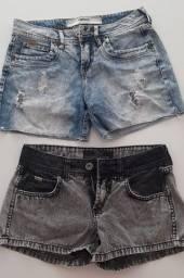 Dois shorts Colcci