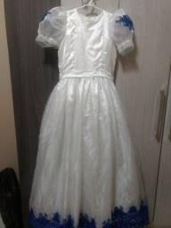 vestido de festa  Tam 10 anos