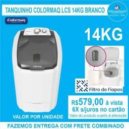 Tanquinho Colormaq 14kg Branco