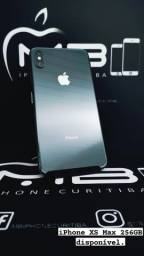 iPhone XS Max 256GB até 18x no cartão.