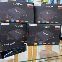 Tv box mxq pro 64gb 4 ram Android 10.1