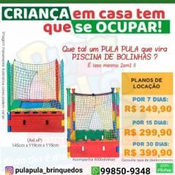 Aluguel Pisicina de bolinhas & Pula Pula (2 em 1) por 7, 15 e 30 dias