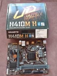 Placa Mãe Gigabyte H410M H Intel LGA 1200