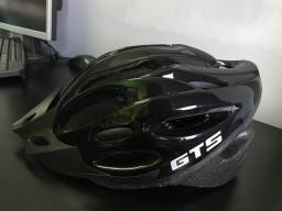 Capacete Ciclismo Gts Out Mould Preto