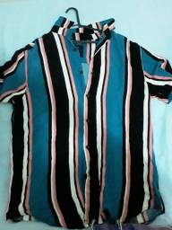 Camisa bluestel usada,mas nas melhores condições