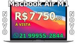 "Macbook Air M1 A2337 8GB / 256 GB / Retina 13.3"" Space Gray, Gold ou Prata - Lacrado"