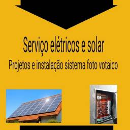 Eletricista industrial montador sistemas fotovoltaicos
