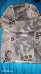 Touca balaclava camuflada
