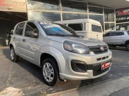 Fiat Uno Drive 2018 Completo 1.0 Flex Revisado Novo