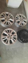 Rodas aro 15 do yaris