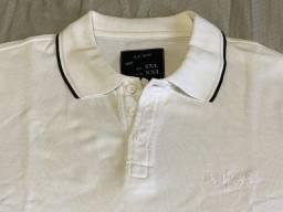 Camisa Armani Jeans Polo Original Tam XXL (Veste G) em Perfeito Estado