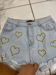Shorts jeans diversas marcas