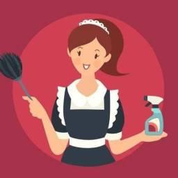 Serviços domésticos  e babá