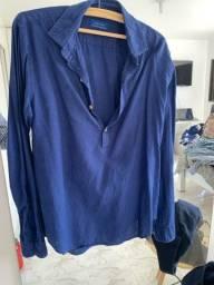 Camisa Zara M de linho