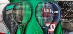 Vendo  par de raquetes de tênis  Wilson  e dunlop