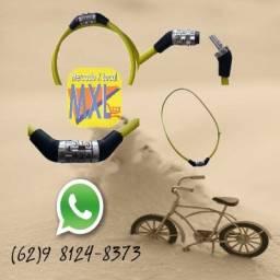 Trava de Segurança com Segredo 4 Dígitos para Bike Bicicleta