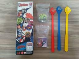 Tapa Certo Vingadores Avengers - Estrela (Completo)