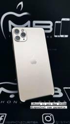 iPhone 11 Pro 64GB e 512GB até 18x no cartão.