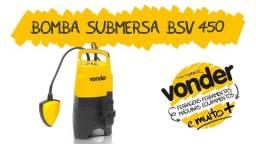 Bomba D´àgua Submersa 7000L p/ hora 450W BSV 450 Vonder