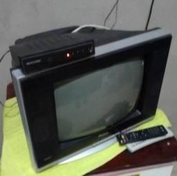 Tv 14 Philco mais conversor digital