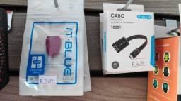 Adaptador USB Otg! Para Ligar Teclado e Mouse Comum em Celular e Tablet!