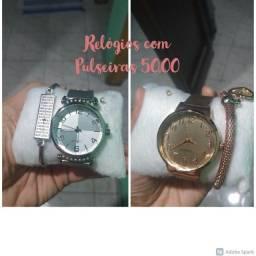 Relógio Quartz com Pulseira