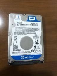 HD 500gb Western Digital - Notebook