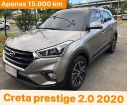 Creta Perstige 2.0 Aut 2020 . Estado de 0km