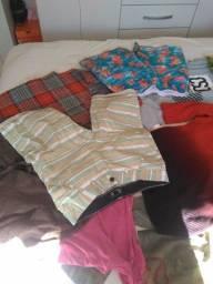 Lote de roupa 40 peça por 80 reais tudo