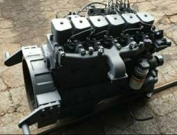 Motor cummins 6 cilindros semi novo