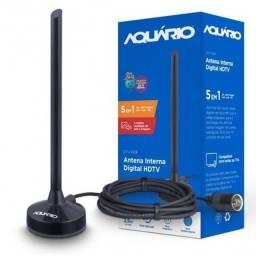 Título do anúncio: Antena Digital 5 Em 1 Vhf Uhf Fm Hdtv 4k Dtv100p Aquário