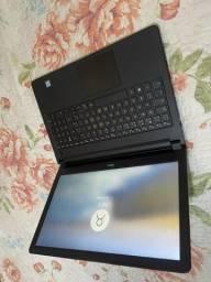 Notebook Dell i5 7ª Geração Tela 1.56 Led 8 gb  hd 1 tb