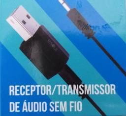 Receptor e Transmissor De Áudio Bluetooth Usb
