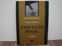 Livro: Execução Penal / Autor: Júlio Fabbrini Mirabete