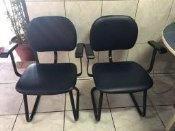 Cadeiras sala de espera