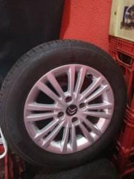 Jogo de rodas peugeot e Citroën