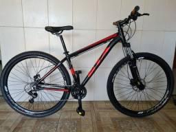Bicicleta aro 29 freio hidráulico nova alumínio