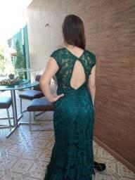 Vestido verde festa.tam 40
