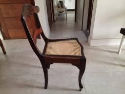 Cadeira antiga madeira ( par )