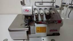 Maquina de costura interlock industrial motor direct drive